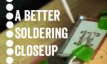 A better pendant soldering closeup