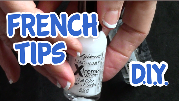 French Tips on Short Nails