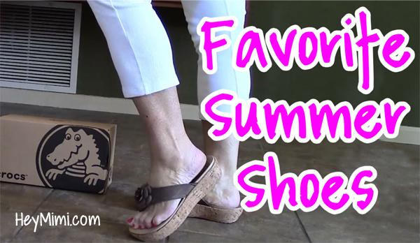 Crocs A-Leigh Floral Flip-Flops Sandal