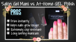 At-home Gel LED Polish vs. Salon Gel Mani