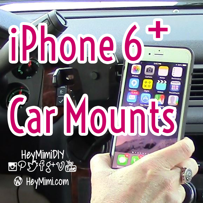 iPhone 6 Plus Car Mounts