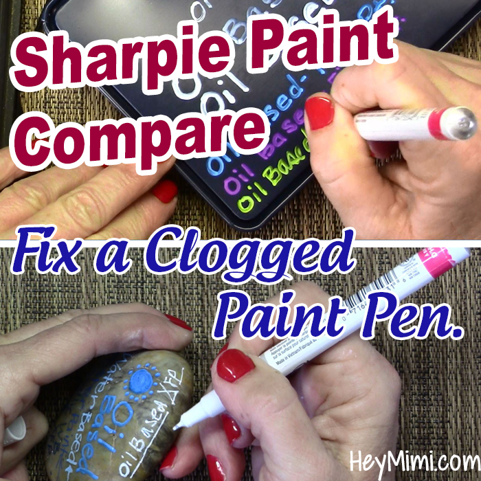 Unclog a Leaking Sharpie Paint Marker